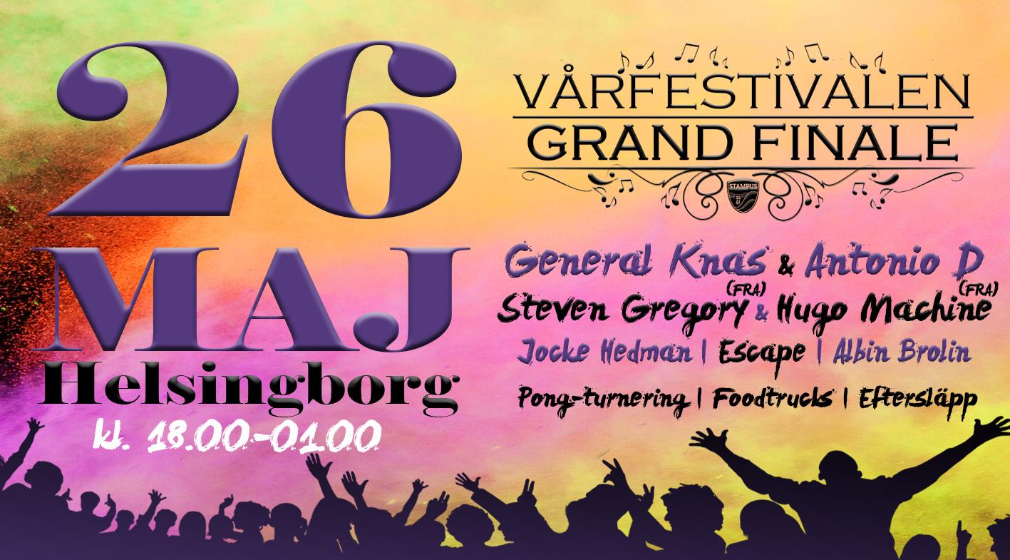 Vårfestivalen – Grand Finale 26 maj