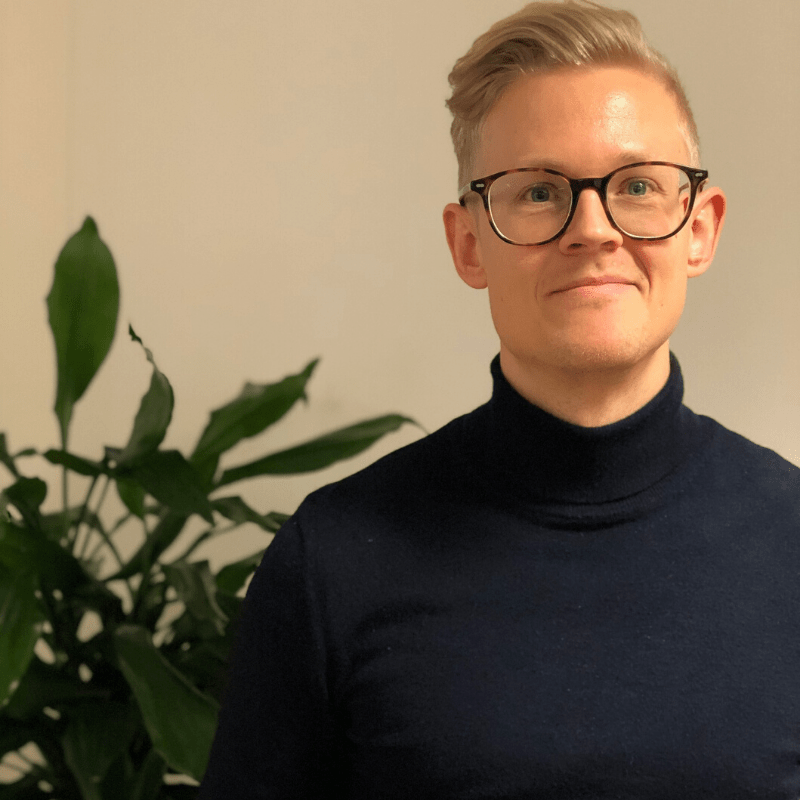 Campus Vänner välkomnar Robin Nilsson som ny Verksamhetsledare